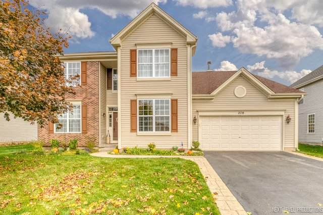 278 Exeter Lane, Sugar Grove, IL 60554 (MLS #10901996) :: Angela Walker Homes Real Estate Group