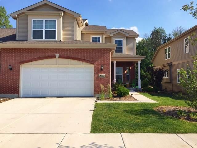 2535 Cedar Hill Lane #2535, Woodridge, IL 60517 (MLS #10905486) :: John Lyons Real Estate