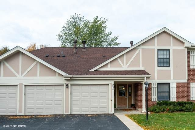 574 Greystone Lane A1, Wheeling, IL 60090 (MLS #10907323) :: BN Homes Group