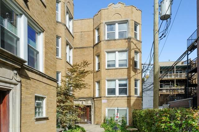 744 W Melrose Street #3, Chicago, IL 60657 (MLS #10911279) :: Lewke Partners