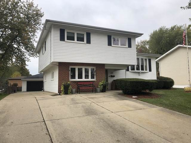 64 S Lewis Avenue, Lombard, IL 60148 (MLS #10912304) :: Helen Oliveri Real Estate