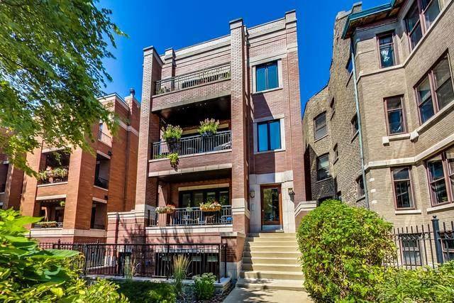 2550 W Logan Boulevard 2R, Chicago, IL 60647 (MLS #10914206) :: Helen Oliveri Real Estate