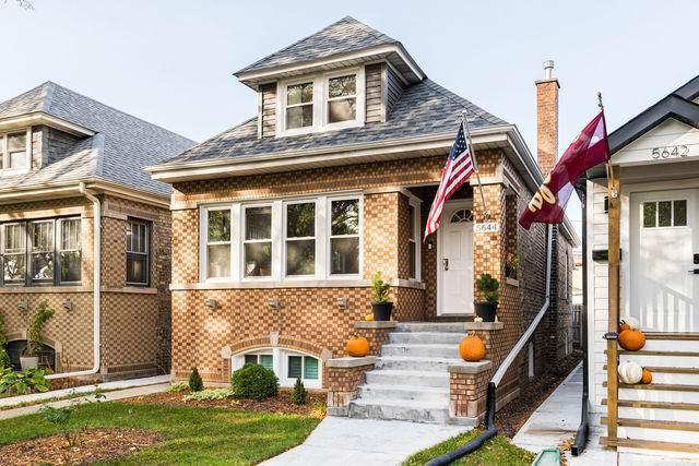 5644 W Giddings Street, Chicago, IL 60630 (MLS #10914514) :: Helen Oliveri Real Estate