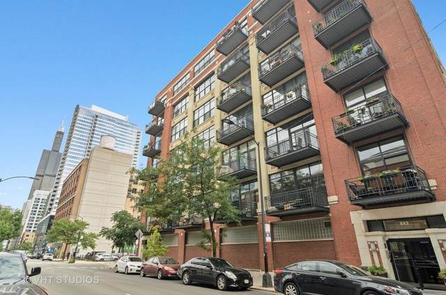 843 W Adams Street #609, Chicago, IL 60607 (MLS #10915044) :: Helen Oliveri Real Estate