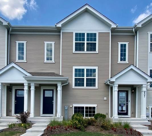615 Berry Ridge Drive #437, Joliet, IL 60431 (MLS #10915495) :: Lewke Partners