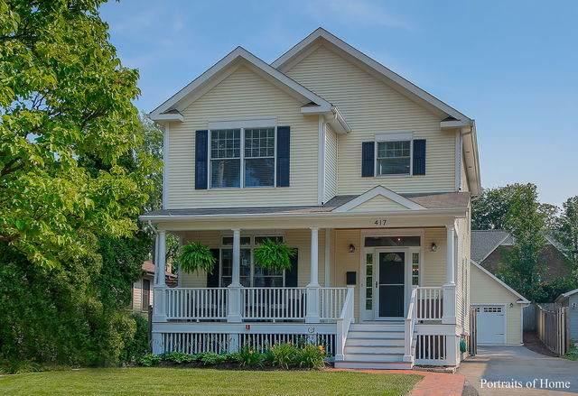 417 Hillside Avenue, Glen Ellyn, IL 60137 (MLS #10916817) :: The Wexler Group at Keller Williams Preferred Realty