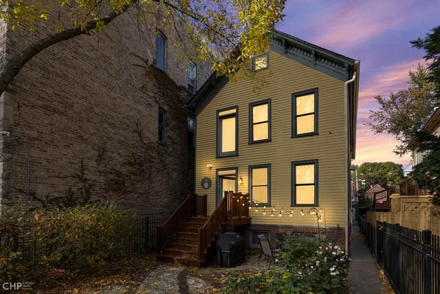 2124 W Evergreen Avenue W #3, Chicago, IL 60622 (MLS #10917415) :: The Wexler Group at Keller Williams Preferred Realty