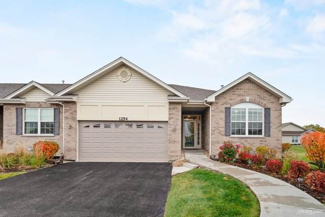 1254 Borego Circle #1254, Bolingbrook, IL 60490 (MLS #10919130) :: The Wexler Group at Keller Williams Preferred Realty