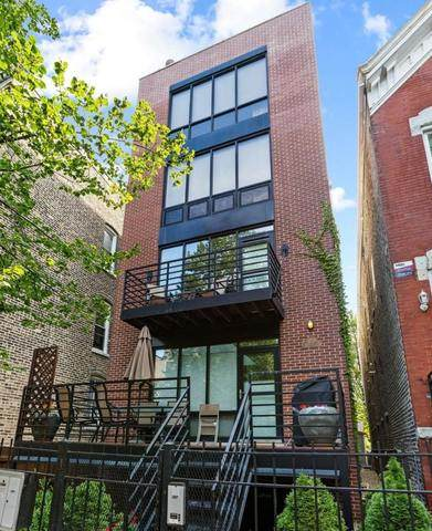 1035 N Paulina Street C, Chicago, IL 60622 (MLS #10920620) :: Property Consultants Realty