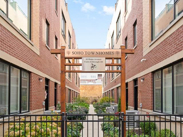 111 Home Avenue #5, Oak Park, IL 60302 (MLS #10921505) :: Littlefield Group
