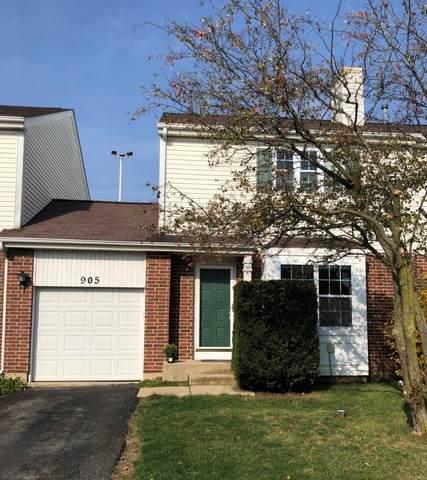 905 Dunbridge Lane, Romeoville, IL 60446 (MLS #10921594) :: Suburban Life Realty