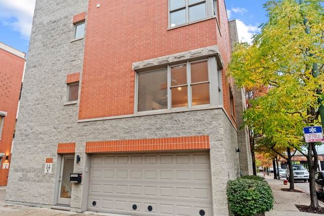 860 N Elston Avenue #14, Chicago, IL 60642 (MLS #10921902) :: Suburban Life Realty