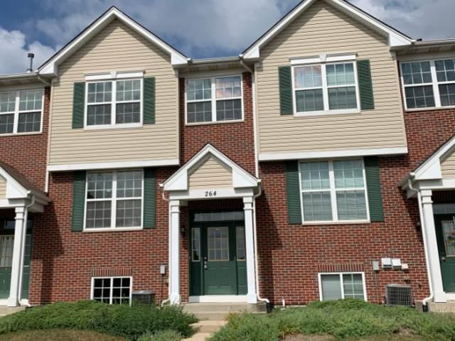 264 S Alder Creek Drive #264, Romeoville, IL 60446 (MLS #10922197) :: Suburban Life Realty