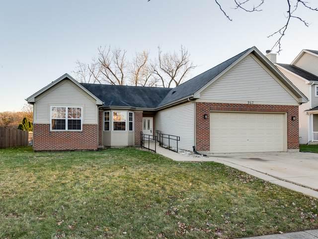 947 Brassfield Avenue, Romeoville, IL 60446 (MLS #10925652) :: John Lyons Real Estate