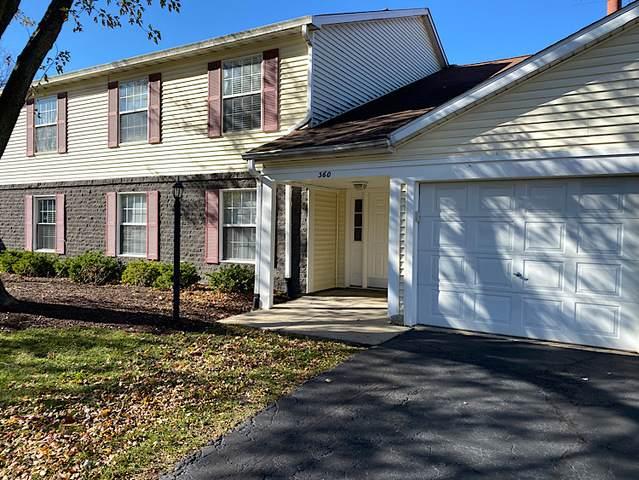360 Newport Lane D1, Bartlett, IL 60103 (MLS #10926541) :: The Wexler Group at Keller Williams Preferred Realty