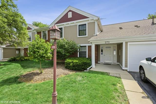 273 Elmwood Lane D2, Schaumburg, IL 60193 (MLS #10927948) :: Helen Oliveri Real Estate
