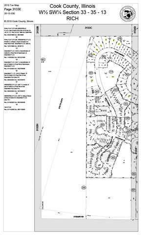 Lots 1-17 Lots 1-17 Drive, Richton Park, IL 60471 (MLS #10929788) :: Lewke Partners