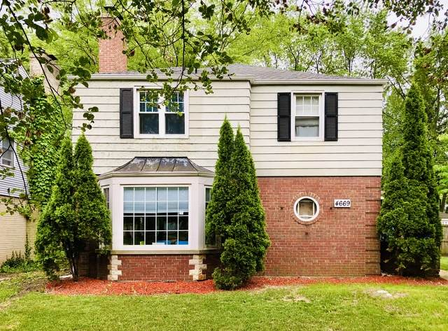 4669 W Peterson Avenue, Chicago, IL 60646 (MLS #10931275) :: Helen Oliveri Real Estate
