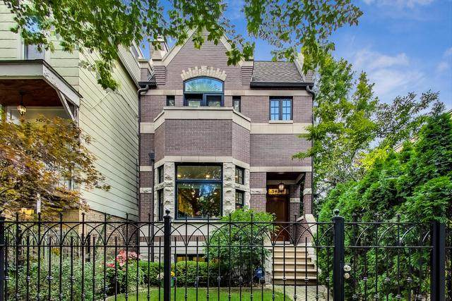 3422 N Hoyne Avenue, Chicago, IL 60618 (MLS #10931349) :: Lewke Partners