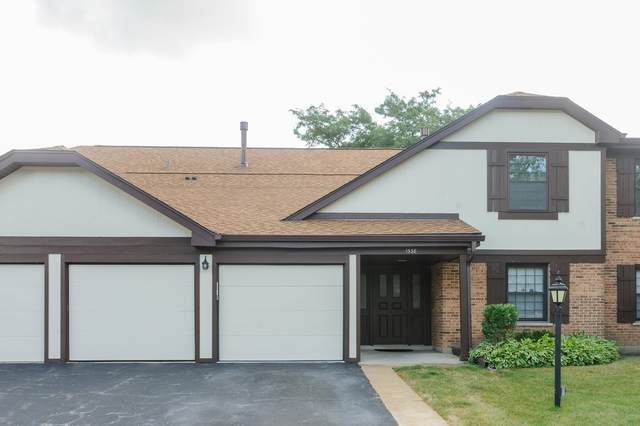 1538 Springview Court A2, Wheeling, IL 60090 (MLS #10931820) :: Suburban Life Realty