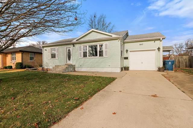 847 Cook Boulevard, Bradley, IL 60915 (MLS #10932786) :: John Lyons Real Estate
