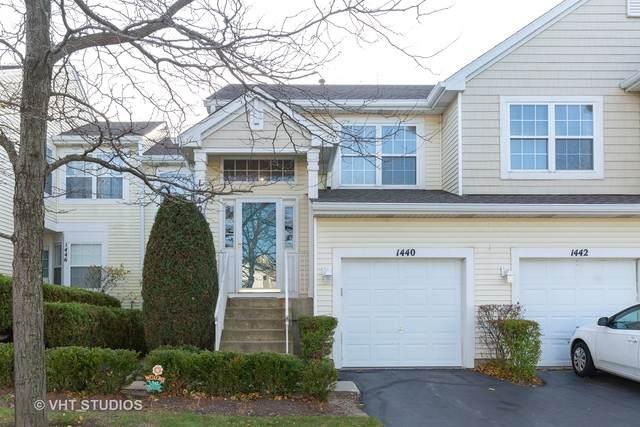 1440 Meadowsedge Lane #1440, Carpentersville, IL 60110 (MLS #10934140) :: Suburban Life Realty