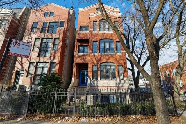 2858 N Damen Avenue #1, Chicago, IL 60618 (MLS #10937264) :: Lewke Partners