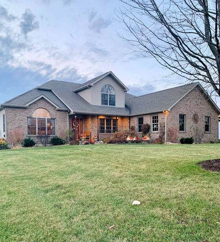 1825 Quail Hollow Road, Steward, IL 60553 (MLS #10937664) :: John Lyons Real Estate