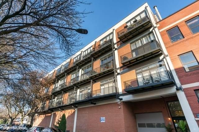 2012 W Saint Paul Avenue #402, Chicago, IL 60647 (MLS #10953237) :: Janet Jurich