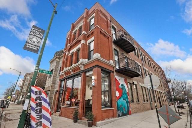 1834 S Ashland Avenue #302, Chicago, IL 60608 (MLS #10956290) :: Helen Oliveri Real Estate