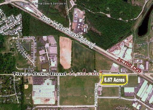 LOT 02 Three Oaks Road, Cary, IL 60013 (MLS #10969056) :: BN Homes Group