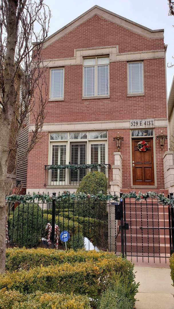 529 E 41st Street, Chicago, IL 60653 (MLS #10969914) :: Schoon Family Group