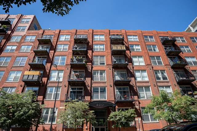 420 S Clinton Street 208A, Chicago, IL 60607 (MLS #10991277) :: The Dena Furlow Team - Keller Williams Realty