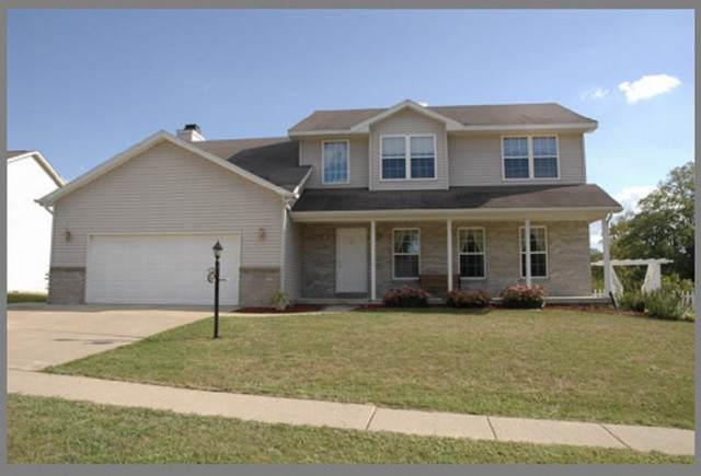 1303 E Jeffery Drive, Mahomet, IL 61853 (MLS #10996088) :: Littlefield Group