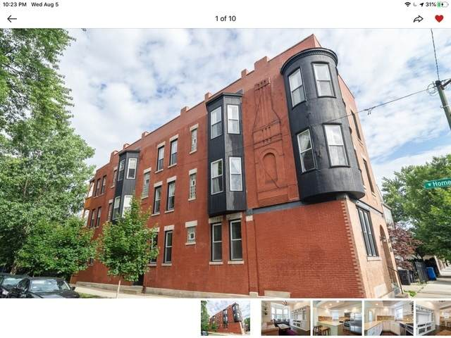 1934 N Rockwell Street 1F, Chicago, IL 60647 (MLS #11000949) :: The Dena Furlow Team - Keller Williams Realty