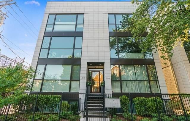 816 N Wood Street 2N, Chicago, IL 60622 (MLS #11001003) :: The Dena Furlow Team - Keller Williams Realty