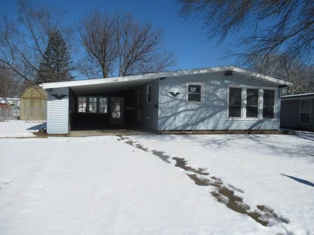 1149 Englewood Drive, Rantoul, IL 61866 (MLS #11002541) :: Ryan Dallas Real Estate