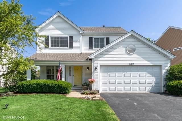 840 Violet Circle, Naperville, IL 60540 (MLS #11005487) :: Helen Oliveri Real Estate