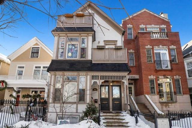 1949 W Melrose Street #3, Chicago, IL 60657 (MLS #11007014) :: The Perotti Group