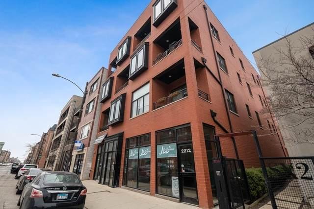 2214 W North Avenue #302, Chicago, IL 60647 (MLS #11013121) :: The Perotti Group