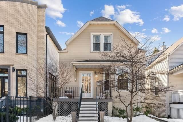 2019 W Fletcher Street, Chicago, IL 60618 (MLS #11013521) :: The Perotti Group