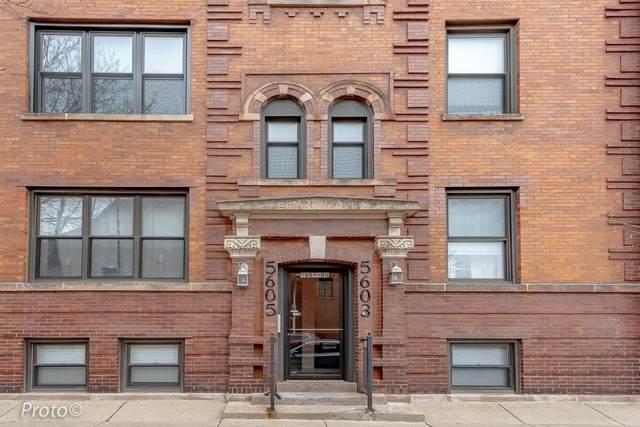 5605 N Glenwood Avenue #3, Chicago, IL 60660 (MLS #11023277) :: The Spaniak Team