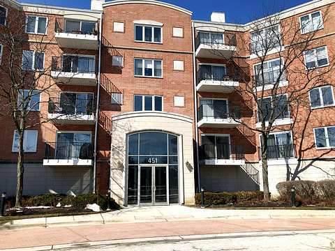 451 Town Place Circle #306, Buffalo Grove, IL 60089 (MLS #11045683) :: The Dena Furlow Team - Keller Williams Realty