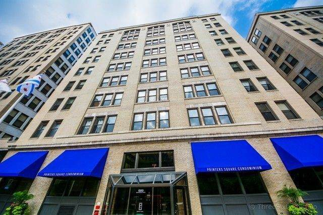 680 S Federal Street #308, Chicago, IL 60605 (MLS #11048150) :: The Spaniak Team