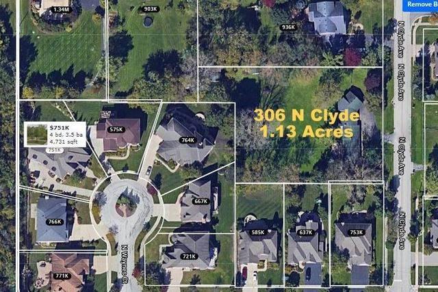 306 N Clyde Avenue, Palatine, IL 60067 (MLS #11054173) :: Helen Oliveri Real Estate