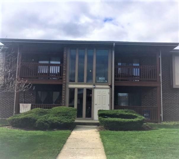 805 Garden Circle #7, Streamwood, IL 60107 (MLS #11055215) :: RE/MAX IMPACT