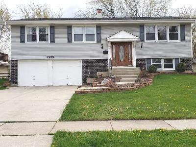 1305 Campbell Lane, Hoffman Estates, IL 60169 (MLS #11058069) :: The Spaniak Team