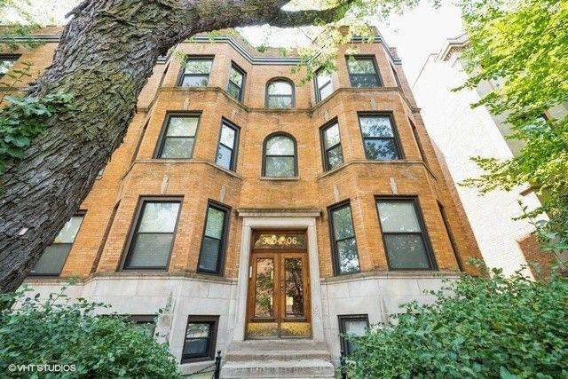3806 N Fremont Street #3, Chicago, IL 60613 (MLS #11080988) :: Suburban Life Realty
