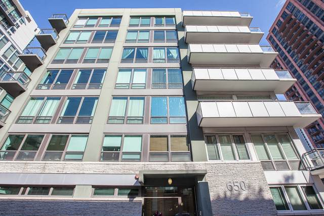 650 W Wayman Street 607C, Chicago, IL 60661 (MLS #11089149) :: Touchstone Group