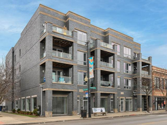 2860 N Milwaukee Avenue 3S, Chicago, IL 60618 (MLS #11089424) :: BN Homes Group